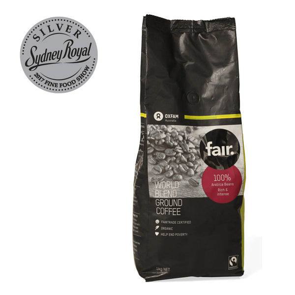 Oxfam - Coffee Ground - World Blend (1kg)