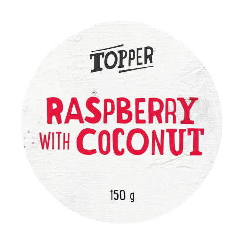 Harris Farm - Yoghurt Topper - Raspberry Coconut Flake (150g)