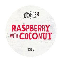 Harris Farm Yoghurt Topper Raspberry Coconut Flake 150g