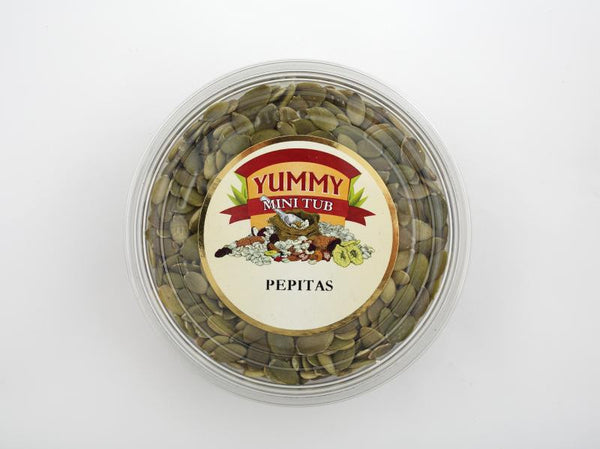 Yummy Pepitas Tub 150g , Grocery-Nuts - HFM, Harris Farm Markets