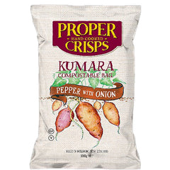 Proper Crisps Pepper with Onion Kumara Chips | Harris Farm Online