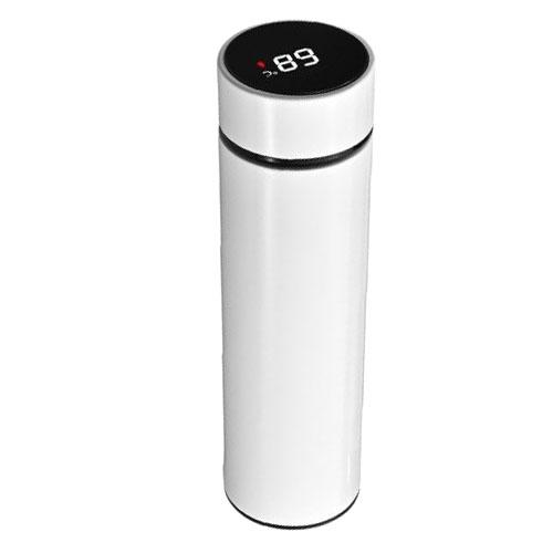 Bouteille Isotherme Inox<br/> Thermos Blanc