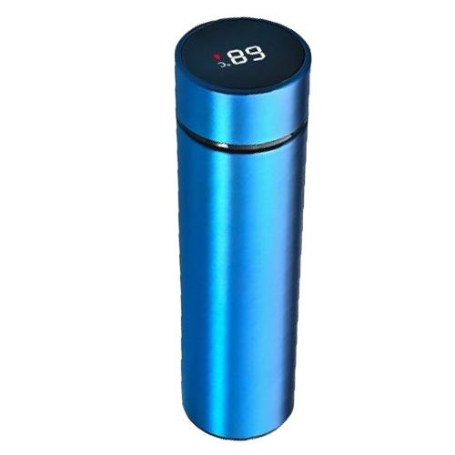 Bouteille Isotherme Inox<br/> Thermos Bleu