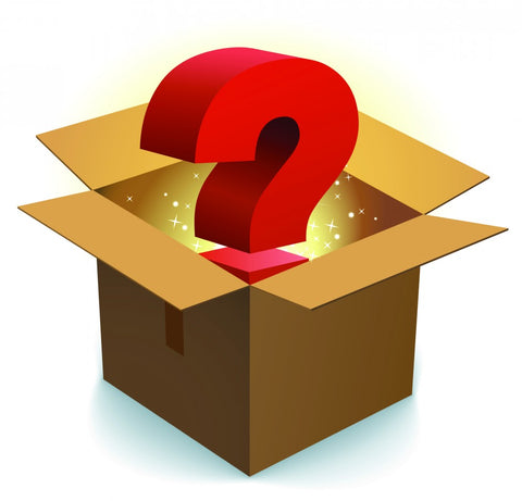 Mystery Box - pay $30 (including shipping) for $50 guaranteed value. Hurry only a limited number available!