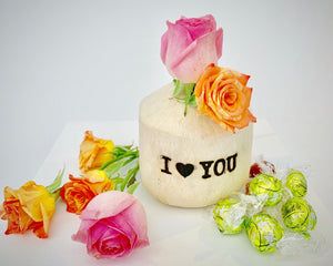 'I Love You' Coconut Gift Box