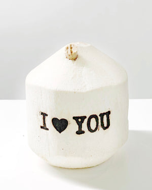 'I Love You' Coconut