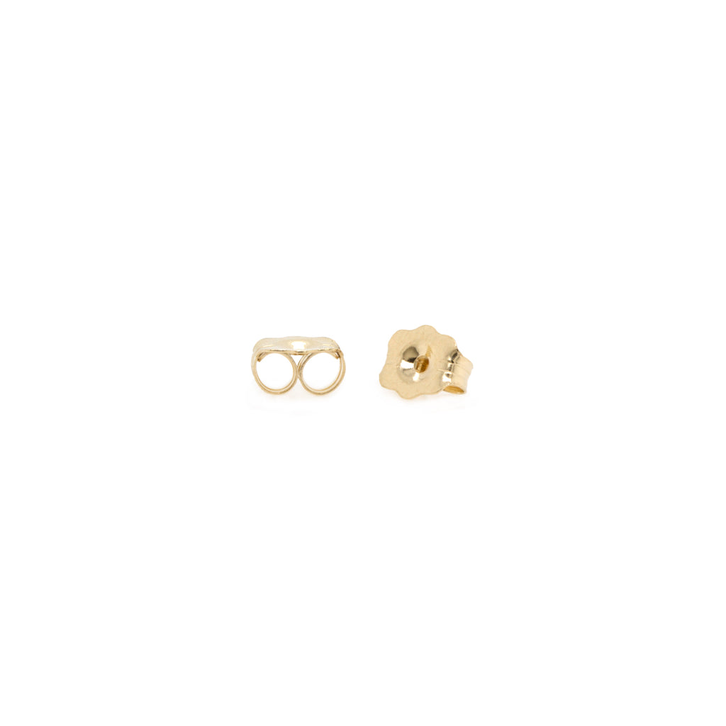 14k gold earring backs