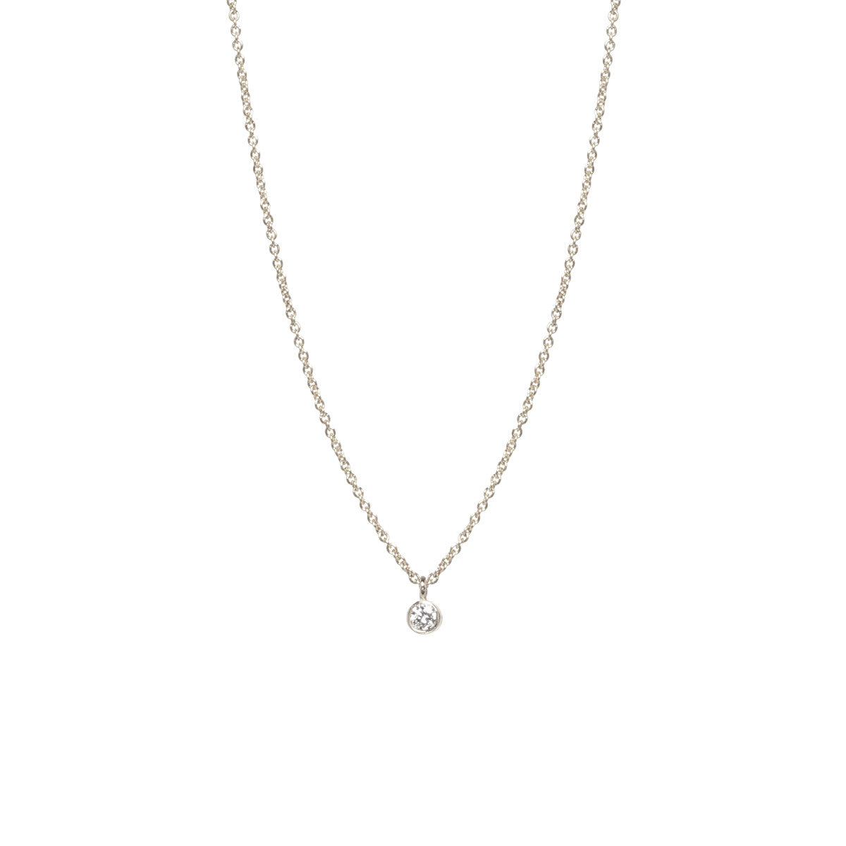 Zo chicco 14k single diamond pendant necklace 14k single diamond pendant necklace aloadofball Choice Image