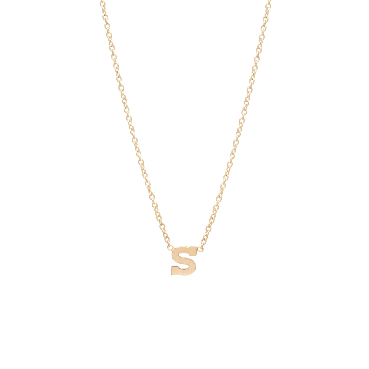 Zoë Chicco – Zoë Chicco 14kt Gold Letter Necklace