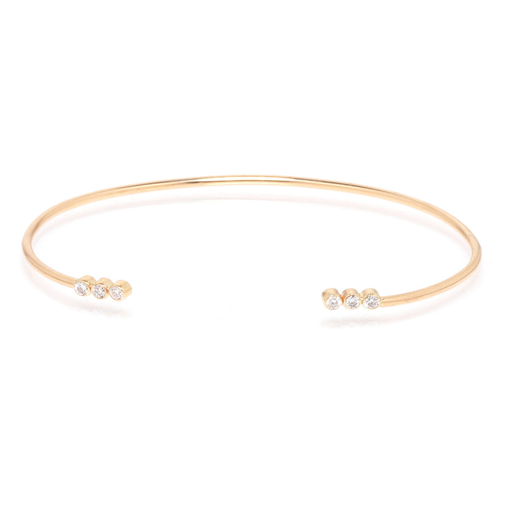 then tovi unbelievable some farber plain and bracelet gold karat bangles bangle br