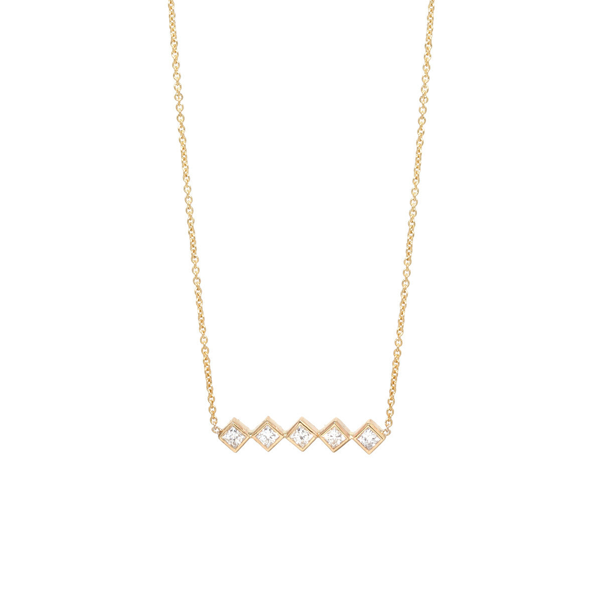 chain white product gold cut diamond square princess pendant dia necklace brilliant round and