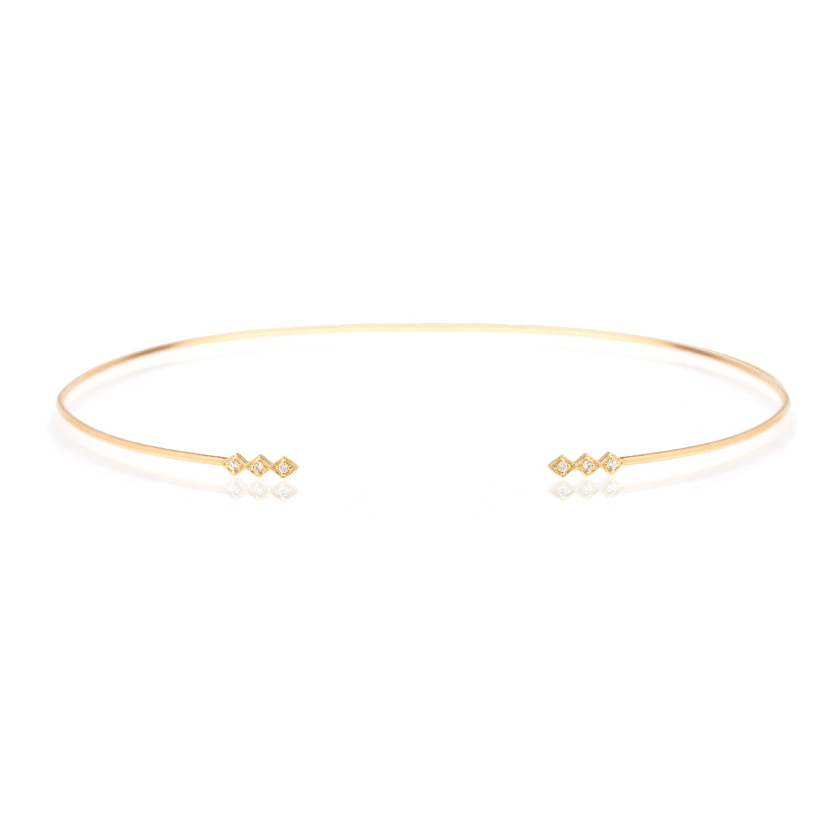or knot nunu sterling bangles friendship original ends twisted pearl related rose jewellery products cube open gold silver bangle
