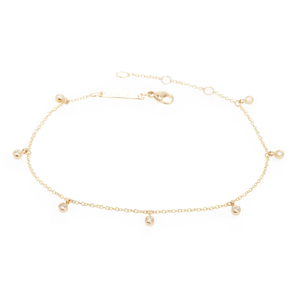 cable anklet white gold bar bracelet chain twisted ankle products with