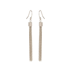 14k tassel earrings