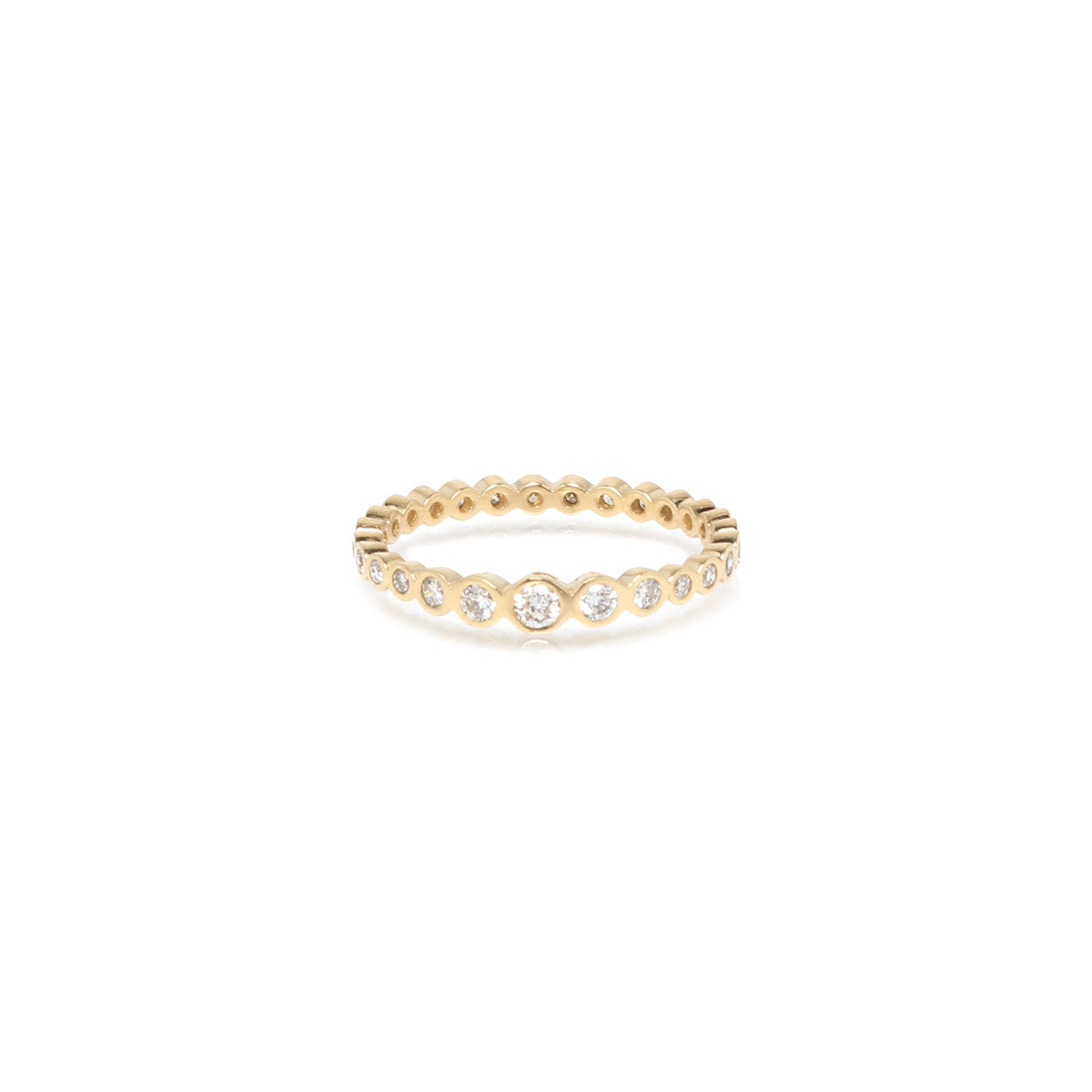 bezel brilliant ct earth solstice bands white gold top ring eternity band diamond tw luxe