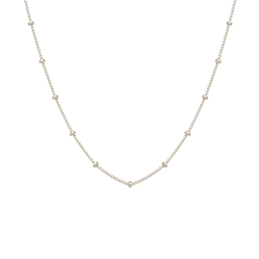 14k satellite chain choker