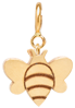 14k midi bitty bee charm with spring ring