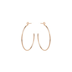 14k medium tiny princess diamond stud hoops