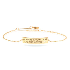 Zoë Chicco 14kt Yellow Gold Customizable ID Bracelet with White Diamond