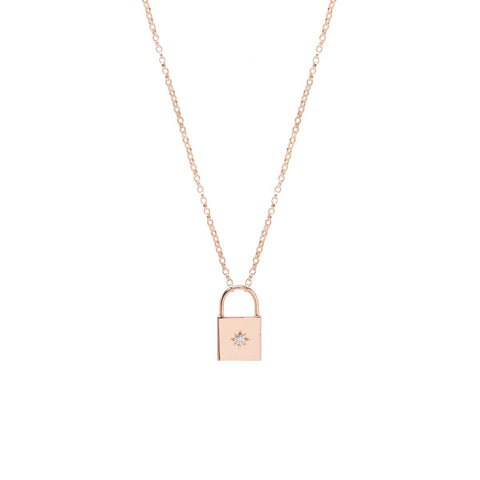 round and lock large with tournaire chain en pendant circle padlock pendants gold bridge paris love necklace