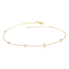 14k paris diamond bracelet