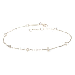 Zoë Chicco 14kt White Gold Paris Diamond Bracelet