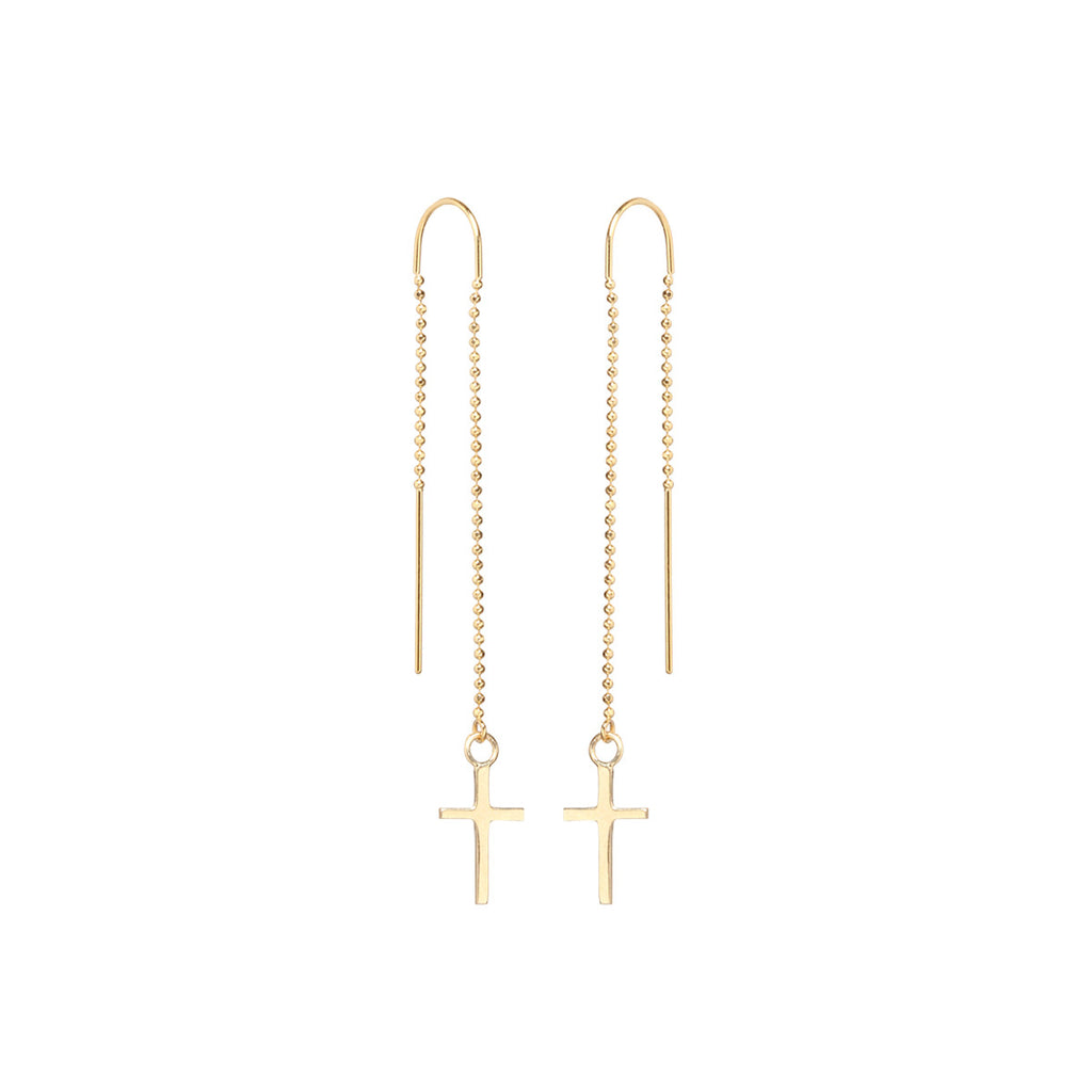 14k cross threader