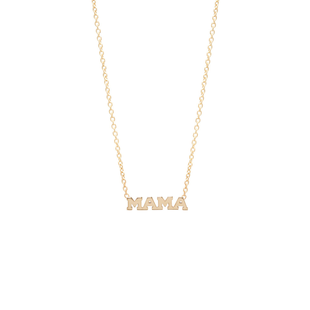 14k Itty Bitty Mama Necklace