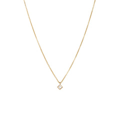 14k princess diamond choker necklace