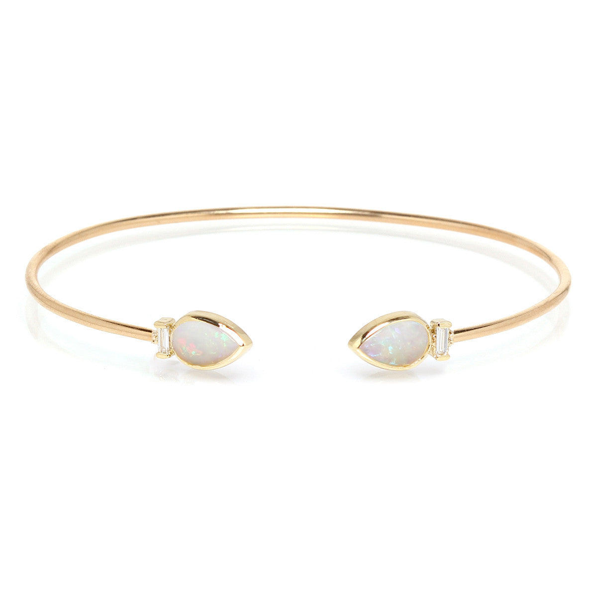 large bezel elizabeth gold bangle diamond shop bangles octavia bracelet thin