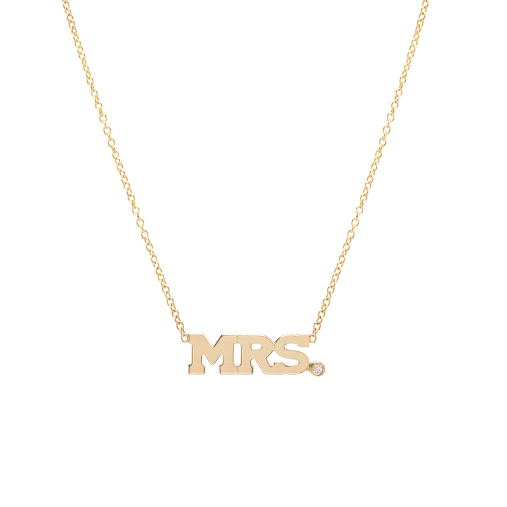 14k gold diamond 3 letter necklace