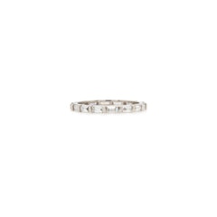 14k Baguette diamond eternity band