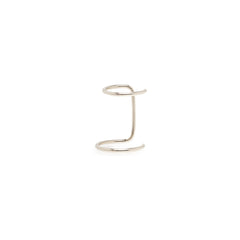 Zoë Chicco 14kt White Gold Double Wide Ear Cuff