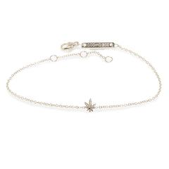 14k itty bitty mary jane bracelet