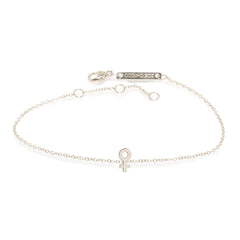 14k itty bitty female symbol bracelet