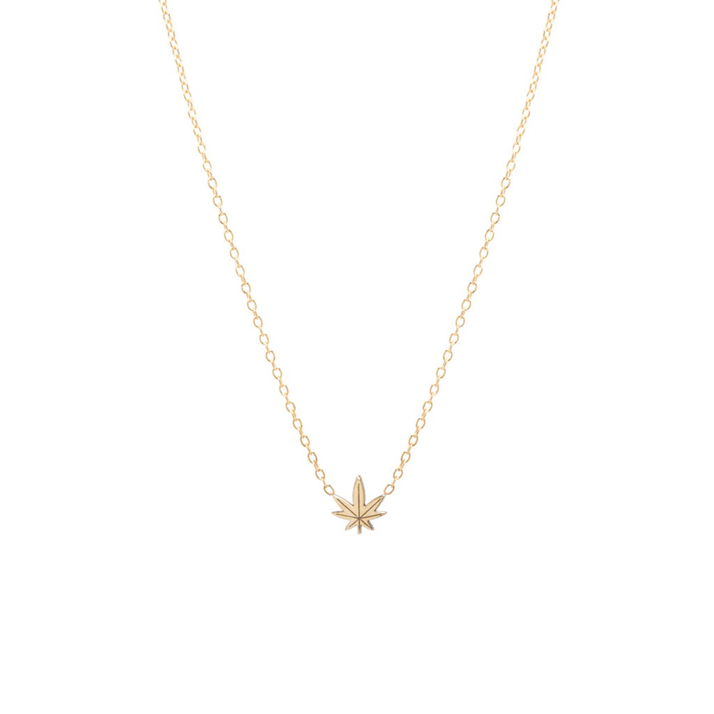 14k midi bitty mary jane necklace