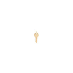 Zoë Chicco 14kt Gold Medium Key Charm Pendant