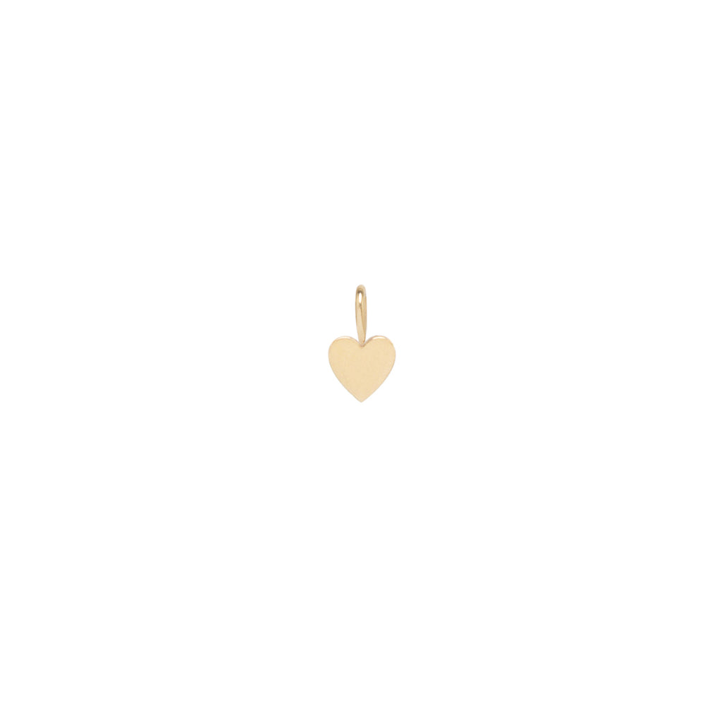 Zoë Chicco 14kt Gold Medium Heart Charm Pendant