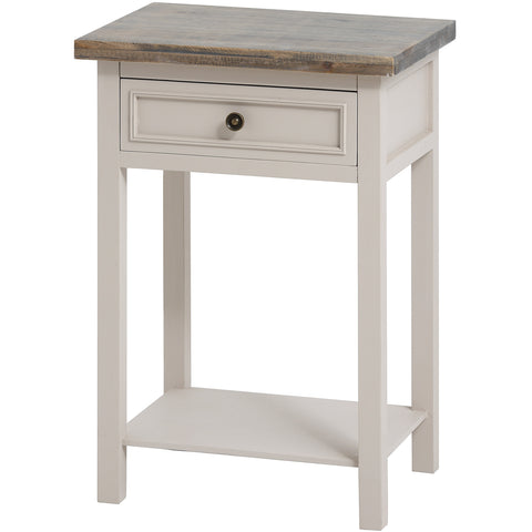 Nash One Drawer Lamp Table - MEEKNEST