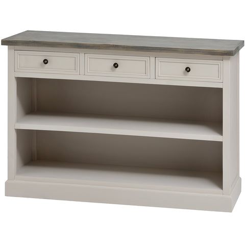 Nash Three Drawer Low Bookcase - MEEKNEST
