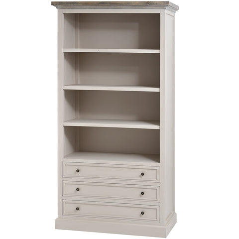 Nash Large Three Drawer Bookcase - MEEKNEST