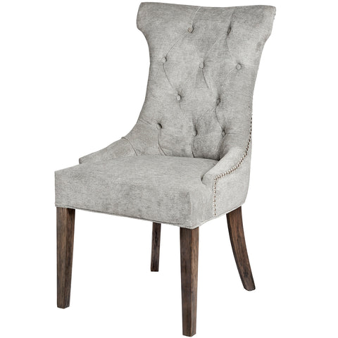 Silver Wing Ring Backed Dining Chair - MEEKNEST