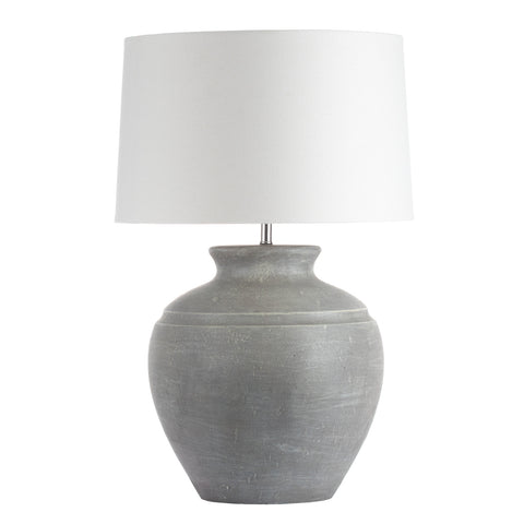 Luna large Stone Table Lamp - MEEKNEST