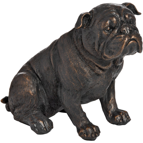 Antique Bronze British Bulldog - MEEKNEST