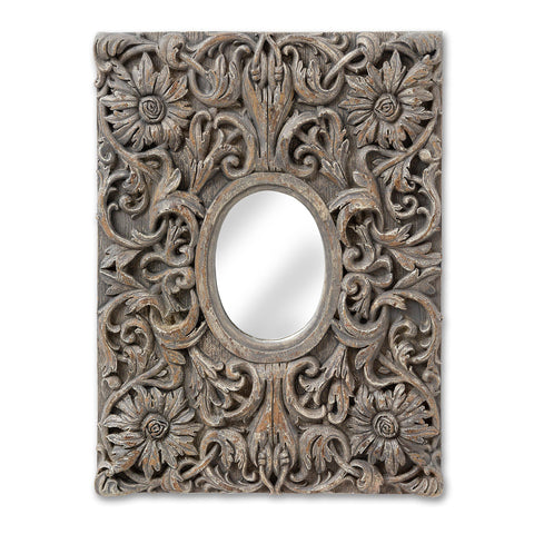 Antique Inspired Decorative Wall Mirror - MEEKNEST