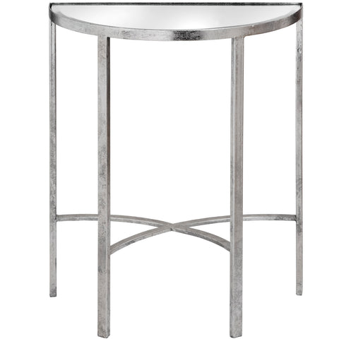 Lucy Cross Detail Mirrored Table - MEEKNEST