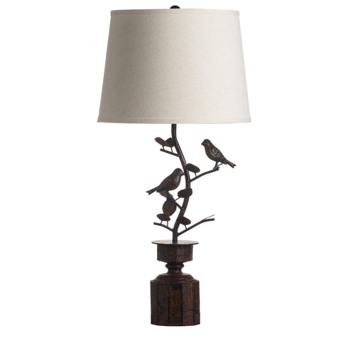 Rustic Bird Table Lamp - MEEKNEST
