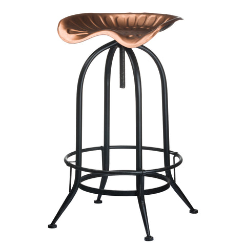 Copper Tractor Seat Bar Stool - MEEKNEST