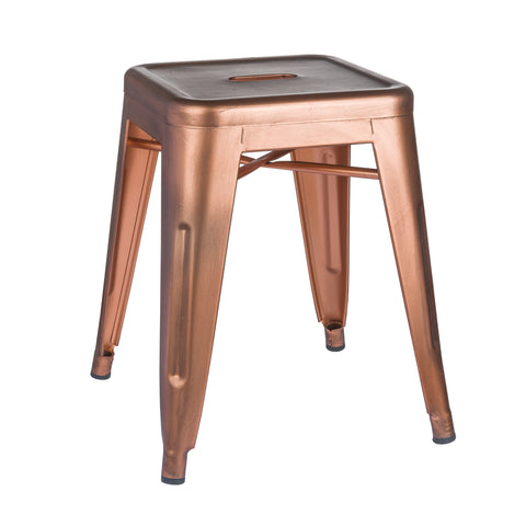 Copper Effect Stool - MEEKNEST