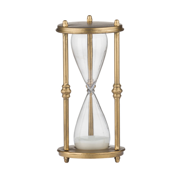 Antique Bronze Hours Glass Timer